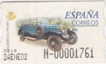 Stamps : Europe : Spain :  Rolls Royce -ATM    (Z)