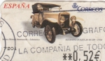 Stamps Spain -  Hispano Suiza- 1910-ATM    (Z)