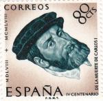 Sellos de Europa - España -  IV Centenario de la Muerte de Carlos I de España y V de Alemania  (Z)