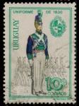 Stamps Uruguay -  Uniforme 1830