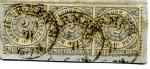 Stamps Europe - Germany -  Cifras. Tres 2g Confederacion Alemania del Norte