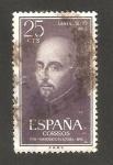 Sellos de Europa - España -  1166 - Centº de la muerte de San Ignacio de Loyola
