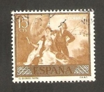 Stamps of the world : Spain :  1210 - Goya, El Quitasol