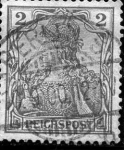 Stamps Germany -  Leyenda Reichpost