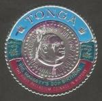 Sellos del Mundo : Oceania : Tonga : 21 - 50 anivº del rey Taufa'ahua IV