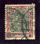 Sellos del Mundo : Europa : Alemania : Leyenda Reichpost