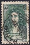 Sellos del Mundo : Europa : Francia :  Jean de La Fontaine (1621-1695) el fabulista