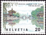 Stamps Switzerland -  CHINA - Lago del Oeste de Hangzhou