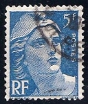 Stamps France -  Marianne.