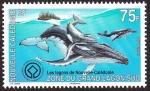 Stamps Oceania - New Caledonia -  FRANCIA - Lagunas de Nueva Caledonia- diversidad de los arrecifes y ecosistemas conexos
