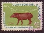 Stamps : America : Ecuador :  IV centenario de la fundación de la ciudad de Baeza