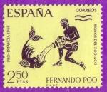 Stamps Spain -  Signos del Zodiaco
