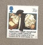 Sellos de Europa - Reino Unido -  Traductores libros sagrados