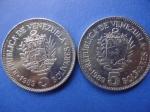 monedas de America - Venezuela -  5 Bolívares (Fuerte)
