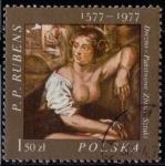 Sellos de Europa - Polonia -  Pintura. Rubens