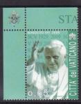 Stamps Europe - Vatican City -  80 aniv. del estado Ciudad del Vaticano
