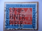 Stamps Germany -  1000 jahre Buxtehude