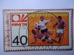Stamps Germany -  WM 74- Logo Mundial 1974 Alemania Occidental