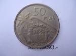 monedas de Europa - España -  50 Ptas-Estandartes-