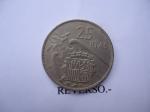 monedas de Europa - España -  25 ptas-Estandartes.