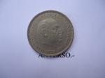 monedas de Europa - España -  Fco.Franco-Caudillo de España por la G. de Dios-1957