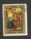 Stamps Hungary -  Adoración de los Reyes Magos