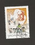 Sellos de Europa - Hungría -  Amundsen descubridor polo aur