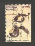 Sellos de Europa - España -  Instrumento musical, castañuelas