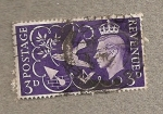 Stamps United Kingdom -  Rey Jorge VI