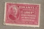 Sellos del Mundo : America : Brasil : Feria Mundial Nueva York 1939