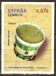 Sellos del Mundo : Europa : España : Instrumentos musicales (Tambor).