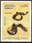 Sellos del Mundo : Europa : España : Instrumentos musicales (Castañuelas).