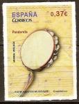 Sellos del Mundo : Europa : España : Instrumentos musicales (Pandereta).
