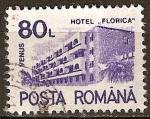 Sellos de Europa - Rumania -   Hoteles
