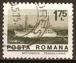Sellos del Mundo : Europa : Rumania : Motonave-Transilvania.