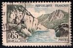 Sellos del Mundo : Europa : Francia :  Valle de Sioule.
