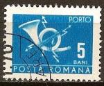 Sellos del Mundo : Europa : Rumania : Cuerno de Correos.
