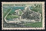 Sellos de Europa - Francia -  Vista de Cognac.
