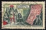 Sellos de Europa - Francia -  Louis XIV and Workers Showing Modern Gobelin.