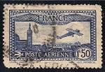 Sellos de Europa - Francia -  Vista de Marsella, Iglesia de Notre Dame en la izquierda.