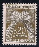 Sellos de Europa - Francia -  Tasas.