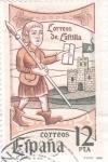 Stamps Spain -  Correos de Castilla  (Z)