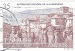 Sellos de Europa - España -  Patrimonio Mundial de la Humanidad-Ciudad Fortificada de Cuenca  (Z)