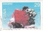 Stamps Spain -  Minerales de España-Cinabrio   (Z)