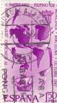 Stamps Spain -  IV Congreso Hispano-Luso.Americano Filipino de Municipios -Barcelona-1967  (Z)