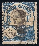 Stamps Thailand -  Annamite girl.