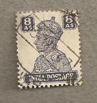 Stamps India -  Rey Jorge VI
