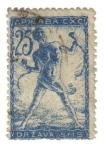 Stamps Europe - Slovenia -  SELLO DE VERIGAR: Hombre Encadenado