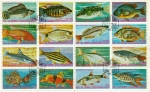 Stamps of the world : Equatorial Guinea :  Peces Exóticos