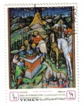 Stamps of the world : Yemen :  Belbell Da Pavia: UNESCO Campaña promonumentos venecianos